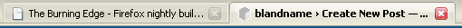Close Buttons on Tabs in Firefox 2.0