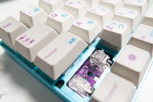 TE AMP Holtites Installed on Zeal60 PCB - Ryan MacLean